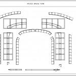 Arched Bridge Form Drawing